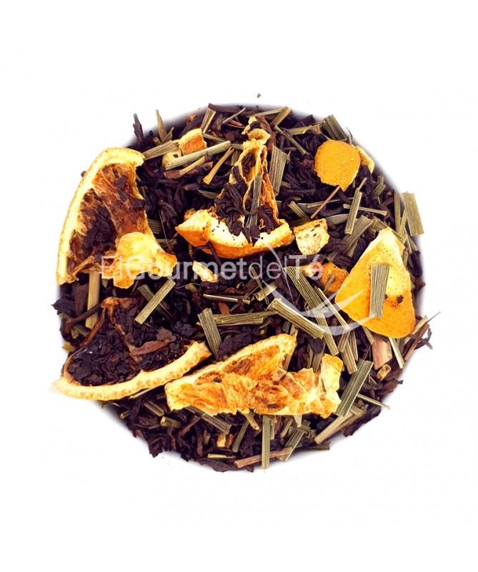 Té rojo Pu Erh Limón Naranja - granel